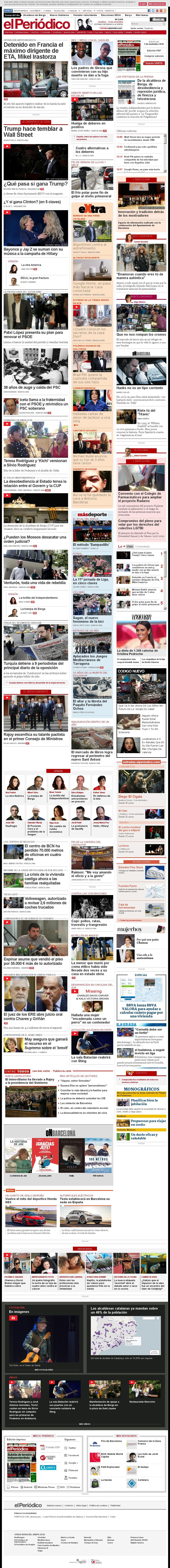 El Periodico at Saturday Nov. 5, 2016, 10:14 a.m. UTC