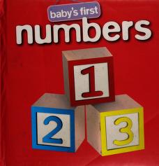 Cover of: Baby's first numbers | Hinkler Books