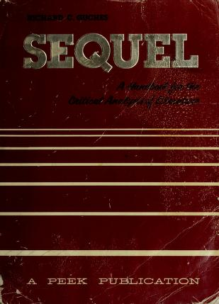 Cover of: Sequel by Richard C Guches