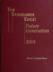 Cover of: The Standards Edge | Sherrie Bolin
